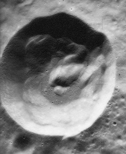 IzsakCRATER-1720, Courtesy LPI/NASA