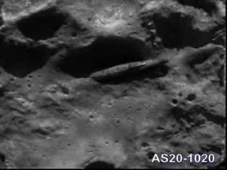 AS20-1020, presumed picture taken by Apollo 20 crew (August 1976)