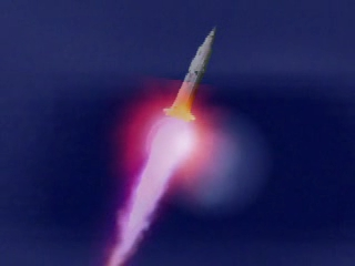"SaturnV-Liftoff ? - Frame from a video added on YouTube by ""retiredafb"" (year 2007)"