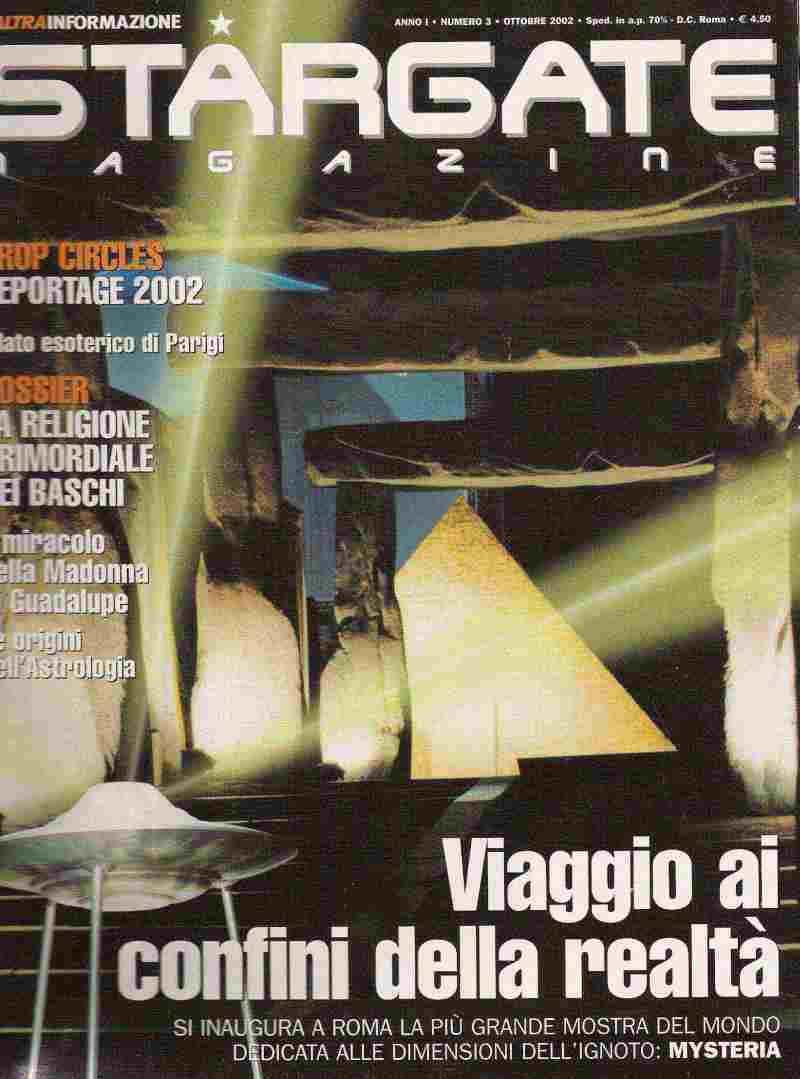 Stargate Magazine, former Italian magazine for which C. Barbato was editor-in-chief