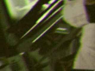 "Frame from APOLLO 20 E.B.E. MonaLisa TV unscheduled transmission- uploaded by ""retiredafb"" on Revver.com, on April 08, 2008"